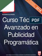 2017 IEDGE Curso Tecnico Avanzado en Publicidad Programatica 2018 NP