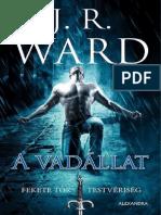J. R. Ward - A vadállat (Fekete Tőr Testvériség 14.).pdf