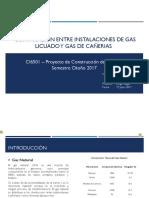 Comparación Entre Instalaciones de Gas Licuado y Gas de Cañería