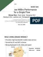Best-Case WiBro Performance