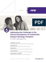 Immuno Oncology Therapies White Paper PPD