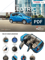 Electric car brochure