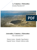 A Steroides Comet as Meteor i to s
