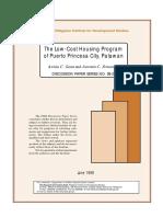 Case Study on Housing _Puerto Princesa City Palawan