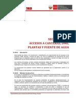 01.06 Acceso a Canteras, DME, Plantas y Fuente de Agua 2