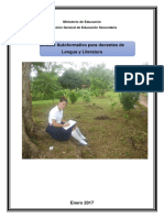 Documento de Capacitación - Comprensión Lectora