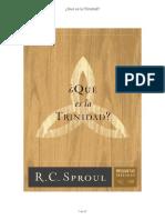 _Que es la trinidad - R. C. Sproul.pdf