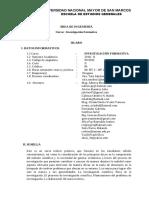 Silabo de Investigacion Formativa- Semestre II (1) (1)