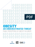 Obesity an Underestimated Threat