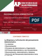 La Empresa y La Evolución Del Pensamiento Administrativ-6junio
