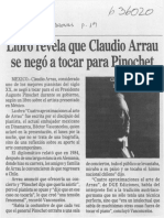 Arrau y Dictadura