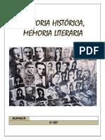 Proyecto Memoria histórica, memoria literaria