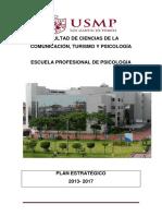 Plan Estrategico Psicologia 2013-2017