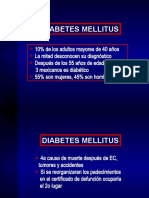 3. Diabetes Mellitus. Metas de Control