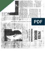 Peter Brook - Provocaciones.pdf