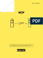 AA-D602A-TC Maintenance Operation Protocol (MOP)