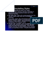 4 Styles of Story Telling