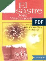 El Desastre - Jose Vasconcelos