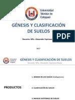 0. Génesis y Clasificación de Suelos Introducción