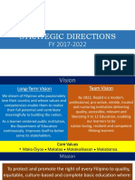 Strategic Directions Fy 2017-2022
