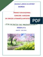 20180312 - Concurs Judetean - Un Suras de Primavara 2018