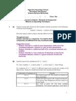 Sec 1E Revision WS Answer Scheme