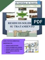 Residuos-solidos y Su Tratamiento _politcas_ambientales