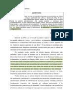 I.- Elena G. de White y La Cultura