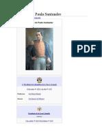Historia de Francisco de Paula Santander