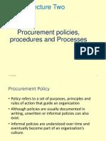 Lecture Two Procurement - Copy-1