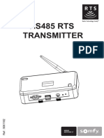 Sofmy RS485 Rts transmitter