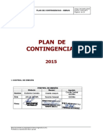Plan de Contingencia Obras