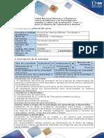 Guía de Actividades y Rúbrica de Evaluación - Fase 1 - Contextualizar El Sistema de Telemetría a Diseñar