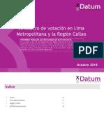 ULTIMO Simulacro Lima y Callao - Octubre 2018