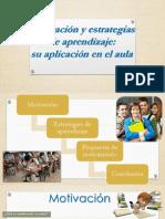 Motivación y Estrategias de Aprendizaje