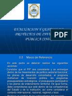 marco de referencia de un perfil de un proyecto