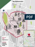 Plan de Montmartre En