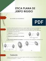 Cinetica Plana de Cuerpo Rigido Clase 8