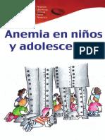 Anemia en niños y adolecentes