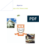 IDLC Finance limited internship report