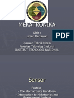 Mekatronika 3 - Sensor - Genap 2013-2014
