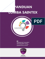 Panduan Lomba SAINTEX 2018