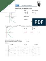 Ec Parabola
