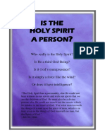 Is the Holy Spirit a Person