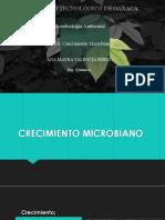 CRECIMIENTO MICROBIANO