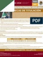 becas 2010