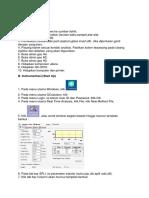 Langkah Kerja Kromatografi Gas