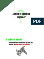 Modelo de Negocios