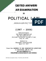 POLITICALLAWQNA1987-2006