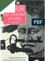 Wallerstein Immanuel - Abrir Las Ciencias Sociales